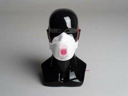 Средства индивидуальной защиты - Респиратор полумаска трехпанельная WALL AIR 99HK…, 0