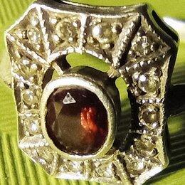 Другое - кольцо перстнь серебро СССР марказиты 925 проба, 0