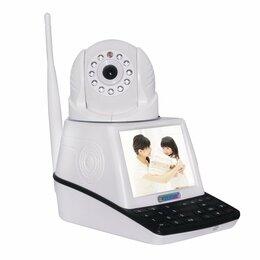 Камеры видеонаблюдения - Удобная Wi-fi видеокамера удаленного наблюдения, 0