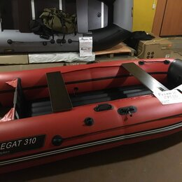 Надувные, разборные и гребные суда - Лодка Марлин 330 надувное дно борт 360 мм , 0
