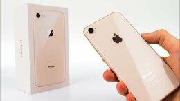 Мобильные телефоны - iPhone 8 64gb Gold - новыйм, 0