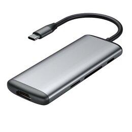 Сетевые карты и адаптеры - Многопортовый адаптер Xiaomi HAGiBiS USB Type-C (UC39-PDMI), 0