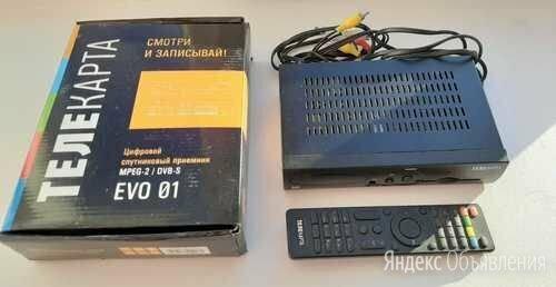 EVO 01 телекарта витринный образец по цене 1900₽ - Спутниковое телевидение, фото 0
