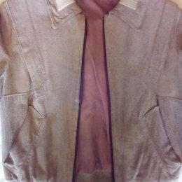 Куртки - Куртка пиджак натуральная замша, 0