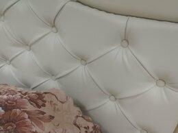 Кровати - Интерьерная кровать 140х200 кожзам , 0