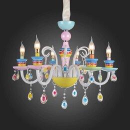 Люстры и потолочные светильники - Детская люстра ST Luce SL673.783.06, 0