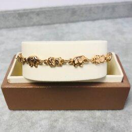 Браслеты - Золотой браслет 585пр длина: 17см вес: 5,59 гр, 0