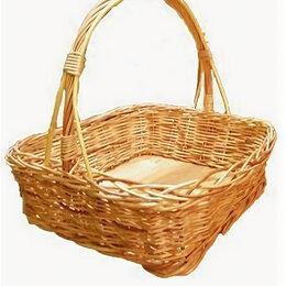 Сувениры - Квадратная подарочная корзина 40 см, 0