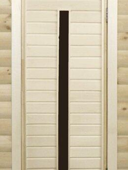 Двери - Банная дверь липа остекленная ПО-3, 0