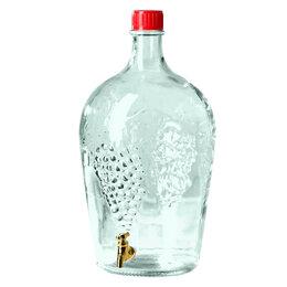 Этикетки, бутылки и пробки - Бутыль-декор 4,5 л РОВОАМ С КРАНОМ, 0