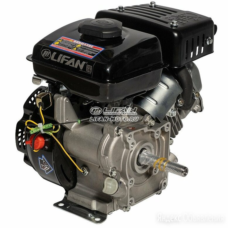 Двигатель LIFAN (Лифан) 156F D16 по цене 9300₽ - Двигатели, фото 0