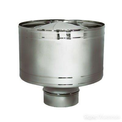 Дефлектор D180 без изоляции, матовый (Вулкан) по цене 3900₽ - Дымоходы, фото 0