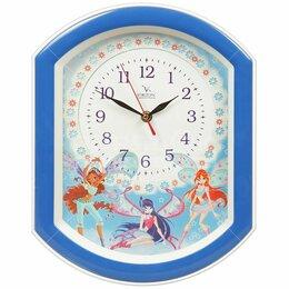 Часы настенные - Детские настенные часы Winx, 0
