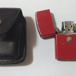 Брелоки и ключницы - Зажигалка бензиновая в чехле, 0