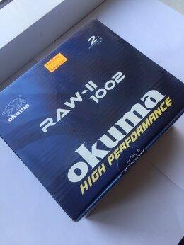 Катушки - Инерционная катушка Okuma Raw-ii 1002 Centerpin…, 0