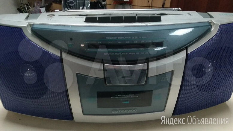 Бумбокс Daewoo DRC-ST9 по цене 1990₽ - Музыкальные центры,  магнитофоны, магнитолы, фото 0