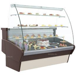 Холодильные витрины - Витрина кондитерская Carboma K95 SM 1,2-1 (ВХСд-1,2), 0