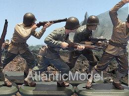 Фигурки и наборы - Солдатики 1/32 Britains Американская пехота 6…, 0