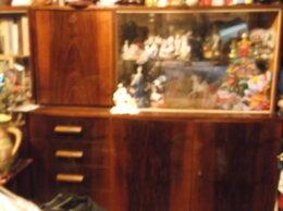 Шкафы, стенки, гарнитуры - сервант с баром массив винтаж, 0