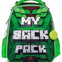 Рюкзаки, ранцы, сумки - Рюкзак школьный Hatber Minecraft новый, 0