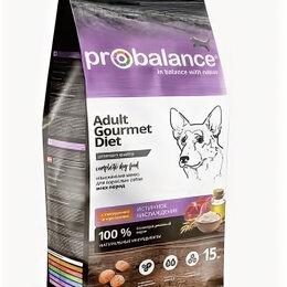 Лакомства  - ProBalance Gourmet diet Adult Корм сухой для взрослых собак с говядиной и кролик, 0