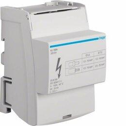 Электрические щиты и комплектующие - Кросс-модуль Hager KJ100A, 0