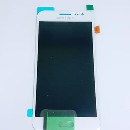 Дисплеи и тачскрины - Дисплей Samsung J200 Galaxy J2 модуль белый White GH97-17940A Оригинал, 0