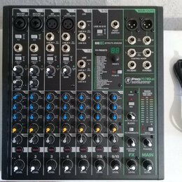 Микшерные пульты - Микшер Mackie ProFX10v3 USB 24-бит, 0