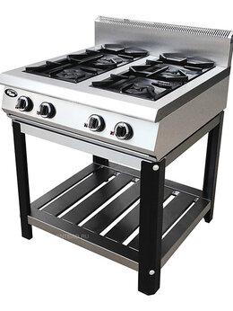 Промышленные плиты - Плита газовая Grill Master Ф4ПГ/800 на подставке, 0