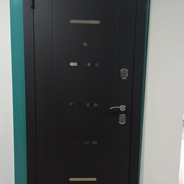 Входные двери - Входная дверь «7,5 см Гарда МУАР Царга» Лиственница, 0