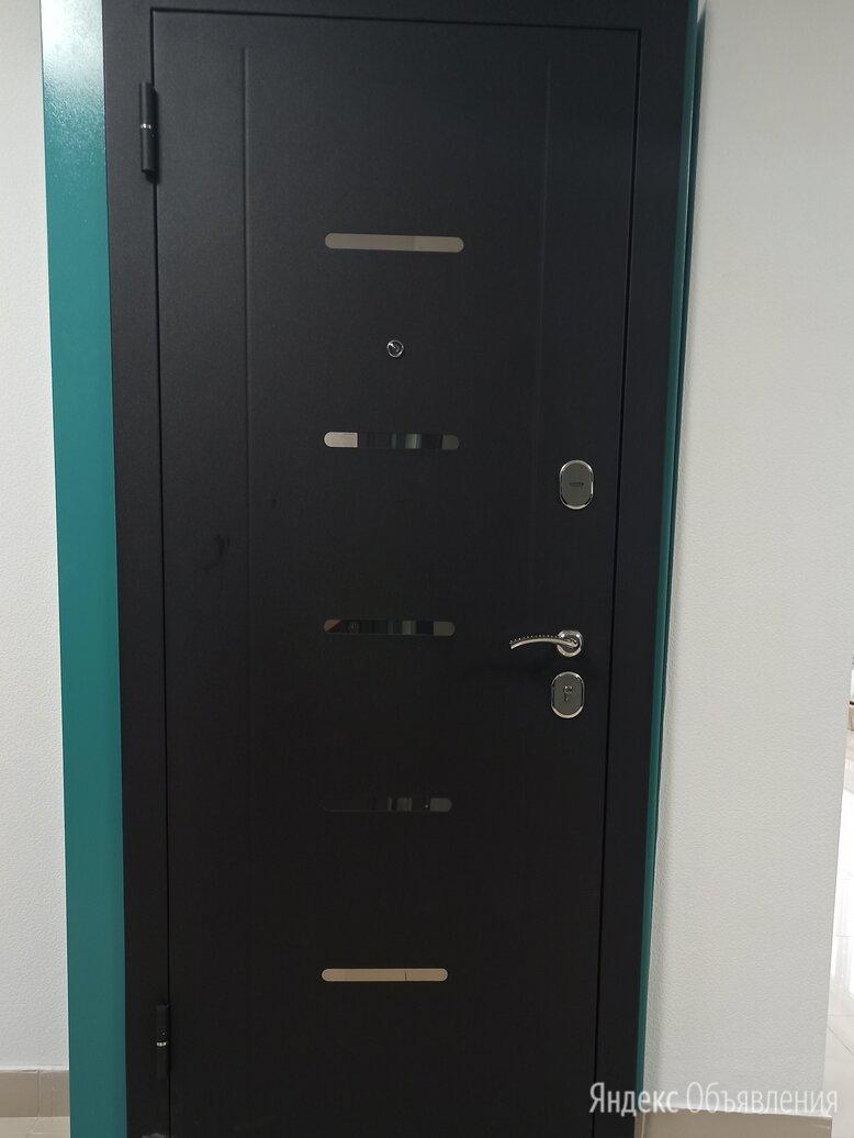 Входная дверь «7,5 см Гарда МУАР Царга» Лиственница по цене 20300₽ - Входные двери, фото 0