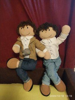 Мягкие игрушки - Кукла большая мягкая каркасная, мальчики, рост…, 0
