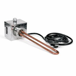 Аксессуары и запчасти - ТЭН для самогонного аппарата, 3 кВт (медный, с регулятором), 0