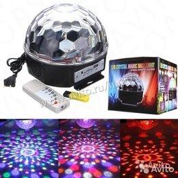 Цифровые плееры - MP3 плеер диско шар LED Magic rgbl -11 (6 цветов), 0