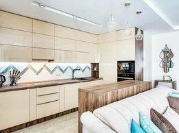 """Мебель для кухни - Кухня в пластике глянец на заказ """"Капучино"""", 0"""