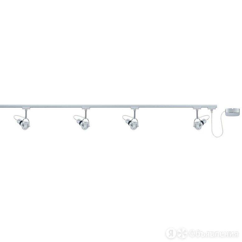 Шинная система Paulmann URail System Set 96882 по цене 22138₽ - Люстры и потолочные светильники, фото 0
