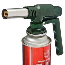 Газовые горелки, паяльные лампы и паяльники - Горелка с ручкой с прочным металлическим разъёмом, 0