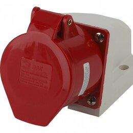 Электроустановочные изделия - Розетка стационарная наружная 125 3Р+РЕ+N 32А…, 0