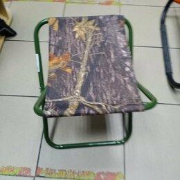 Походная мебель - Стульчик рыболовный складной (Т-образный), 0