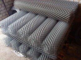Заборчики, сетки и бордюрные ленты - Сетка рабица оцинкованная 2,0*10м, 0