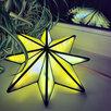 Ночник Вифлеемская звезда из витражного стекла по цене 15000₽ - Настенно-потолочные светильники, фото 5