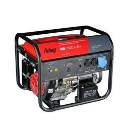 Электрогенераторы и станции - Генератор бензиновый Fubag BS 7500 A ES, 0