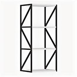 Мебель для учреждений - Эко Лайн 2.11 стеллаж навесной металлический, 0