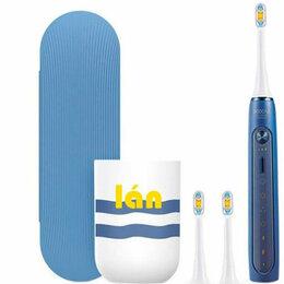 Электрические зубные щетки - Электрическая зубная щетка Xiaomi Soocas X5 (Синяя), 0