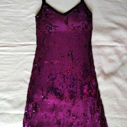 Платья - Платье мини пайетки р-р 40-42, 0