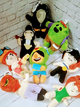 Мягкие игрушки - Мягкая игрушка Бравл Старс, 0