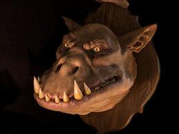 Рога, шкуры, чучела животных - Голова Монстра на стену.  Орк, 0