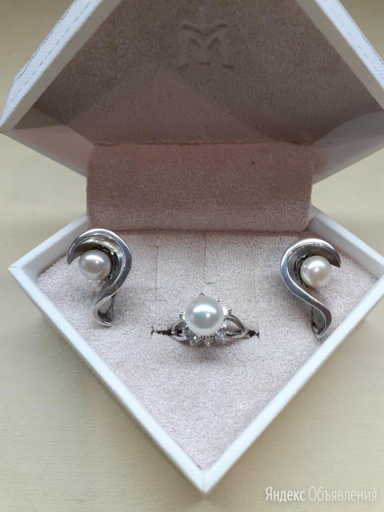 Комплект изделий из серебра  по цене 1800₽ - Комплекты, фото 0