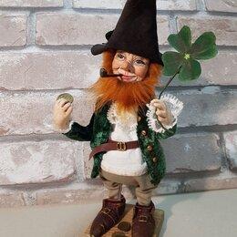 Сувениры - Лепрекон кукла в подарок. Кукла лепрекон ручной работы из полимерной глины, 0