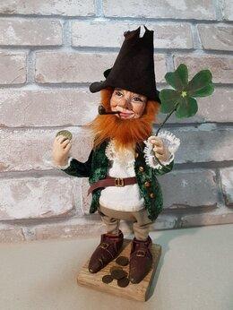 Сувениры - Лепрекон кукла в подарок. Кукла лепрекон ручной…, 0